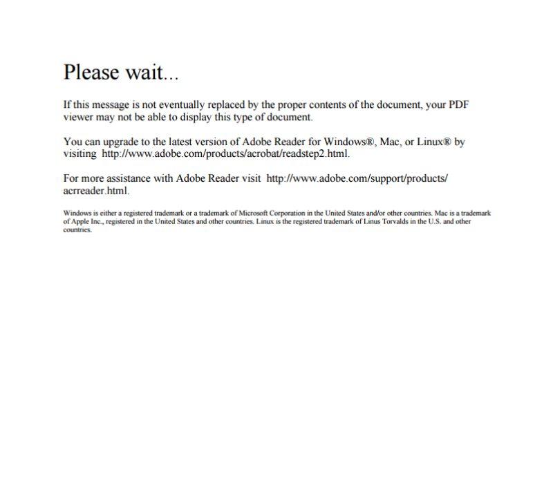 PDF file didn't load