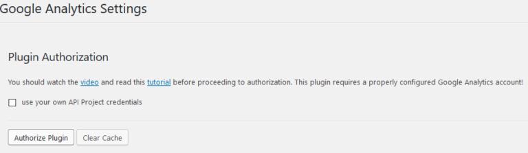 Plugin authorization